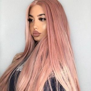 """💫 22"""" PINK STRAIGHT LACE FRONT WIG *NEW*  🆕🆕"""